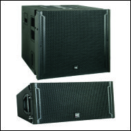 Loa Full và loa Sub Line array GRF; Series GVL